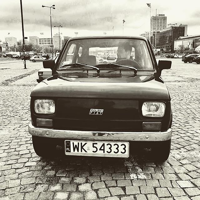 #warsaw #poland #polskifiat #warsawselfdrivetour #classiccar #classiccars